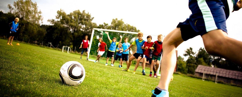 Fußballtraining in Burghausen