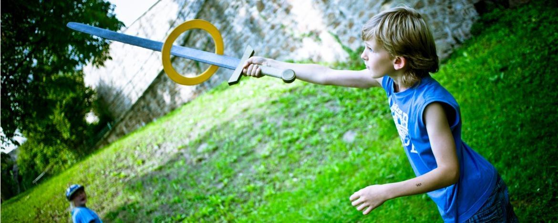 Ritterspiele in der Jugendherberge Dinkelsbühl