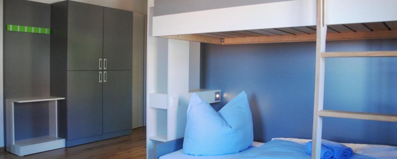 Inklusion: Zimmer in der Jugendherberge Dinkelsbühl