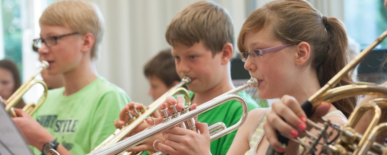 Musizieren in der Jugendherberge Dinkelsbühl