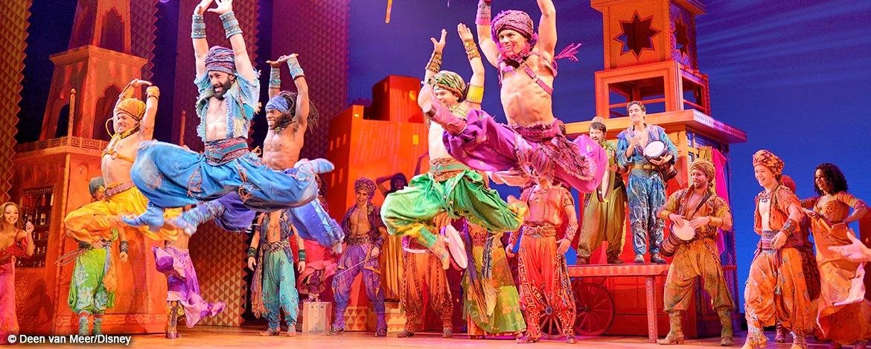 Musical Aladdin - Szenenmotiv Market Place