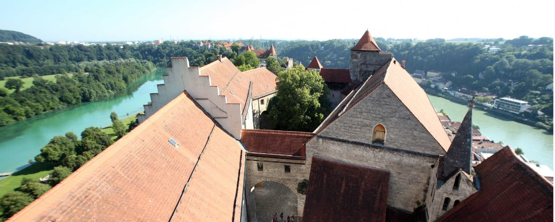 Die weltgrößte Burganlage in Burghausen