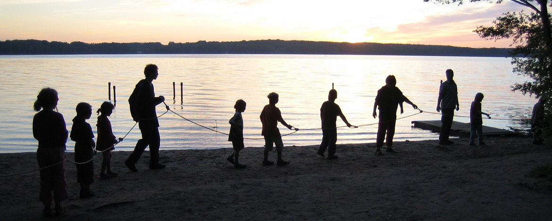 Teamspiele am Kellersee zu Silvester