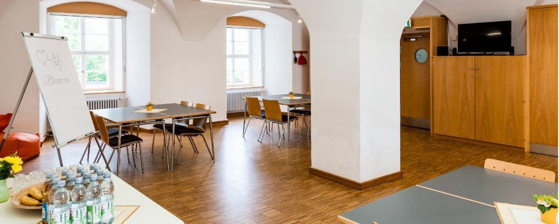 Historische Räume mit Kreuzgradgewölbe