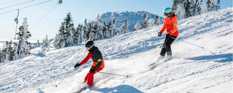 Im Skigebiet Spitzingsee-Tegernsee unterwegs