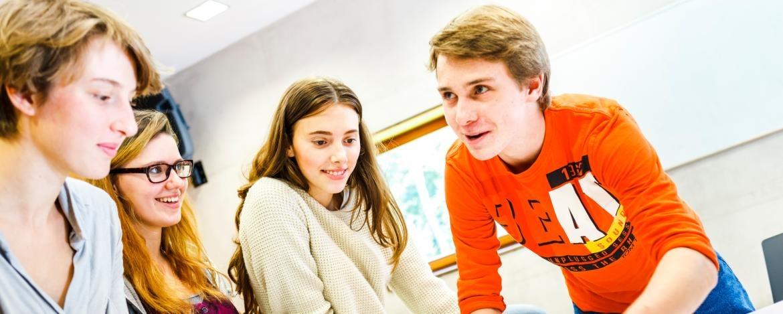Austausch in der Jugendherberge