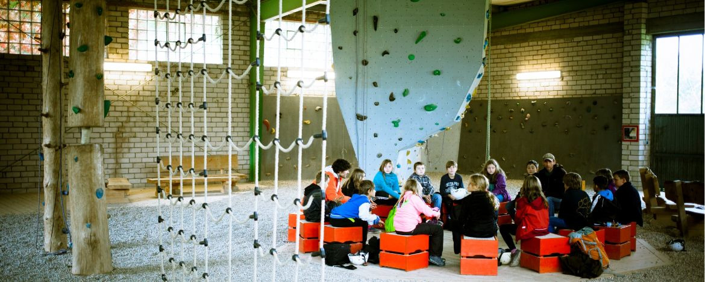 Erlebnispädagogische Programmpunkte während der Klassenfahrt