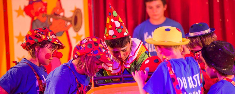 bunter Zirkusspaß