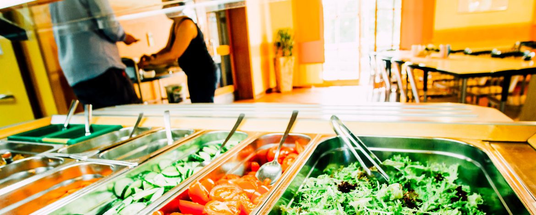 Auf Wunsch Themenbuffets, Lebensmittel aus der Region