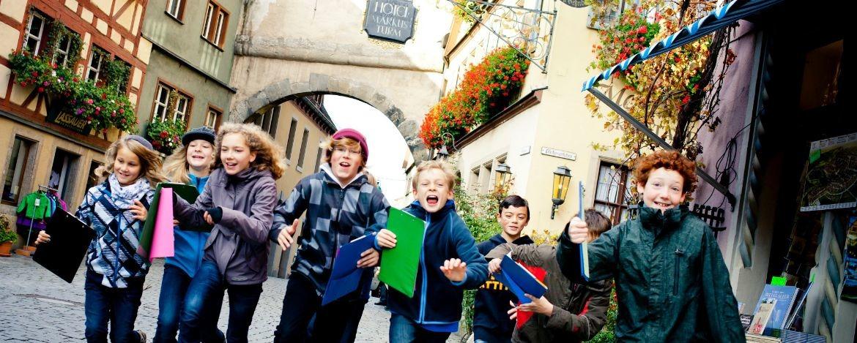 Klassenfahrt zum Thema Mittelalter und Geschichte