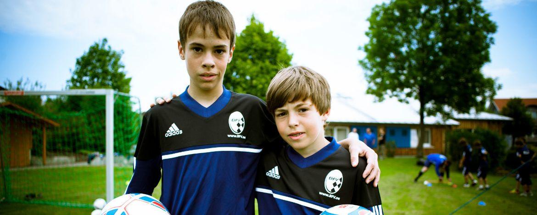 Fußballcamp in der Jugendherberge Burg Wernfels