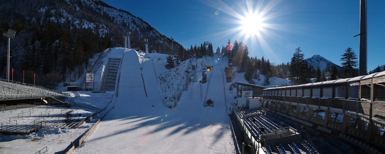 Besichtigung der Skiflugschanze