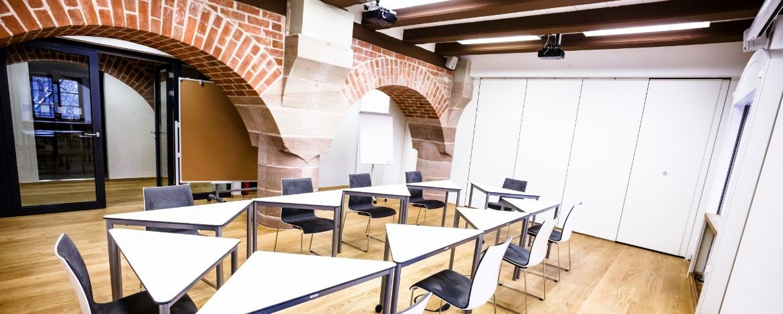 Modern ausgestattete Seminarräume in der Kultur|Jugendherberge Nürnberg
