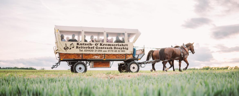 Kremserfahrt im Minitou Wildwest-Camp Kretzschau