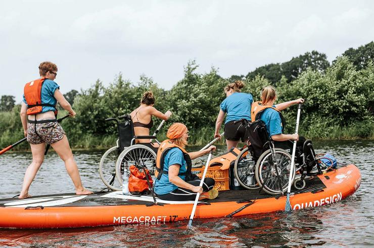 Erlebnispädagogik - auch im dem Rollstuhl