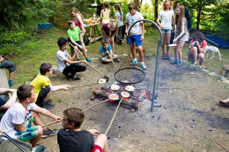 Erlebnispädagogik: Outdoorküche