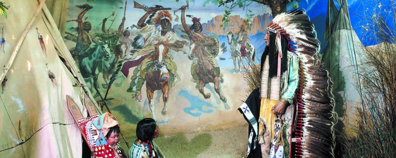 Auf Indianerspuren unterwegs