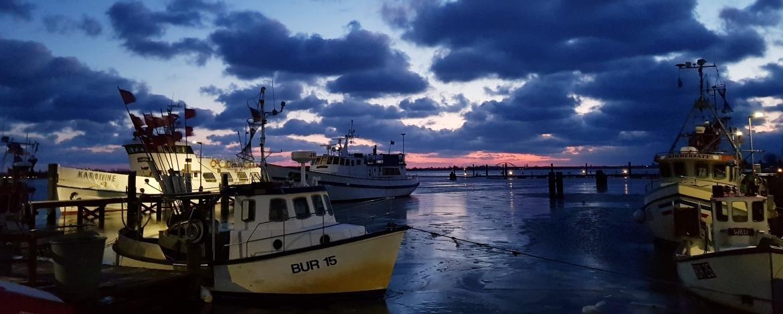 Insel Hafen von Fehmarn