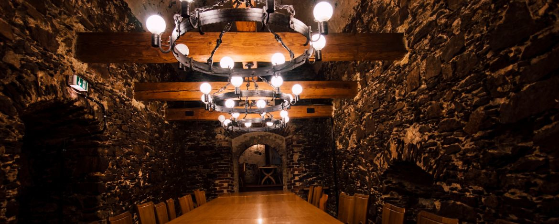 Kellergewölbe in der Jugendherberge Waldmünchen