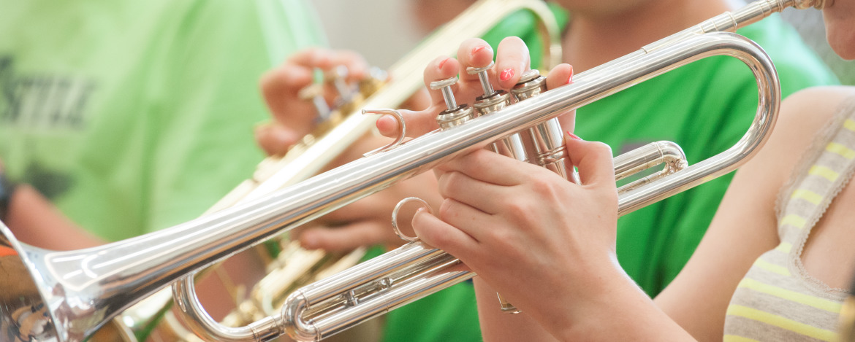 Orchesterprobe in Neidenberga