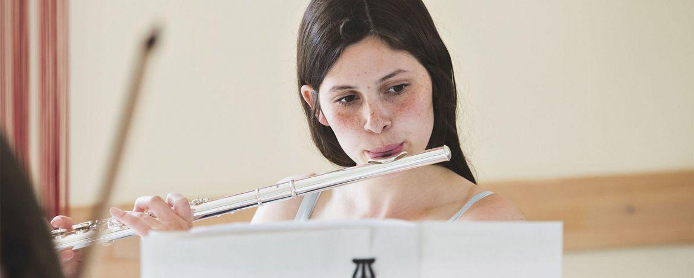 Orchesterprobe in der Jugendherberge Bad Honnef