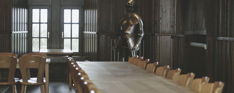 Probenraum in der Jugendherberge Burg Blankenheim