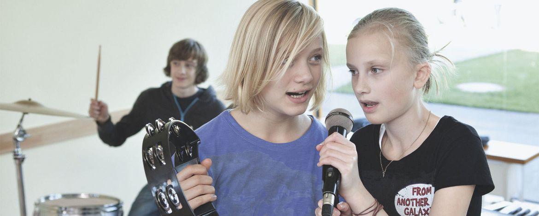 Orchesterprobe in der Jugendherberge Xanten