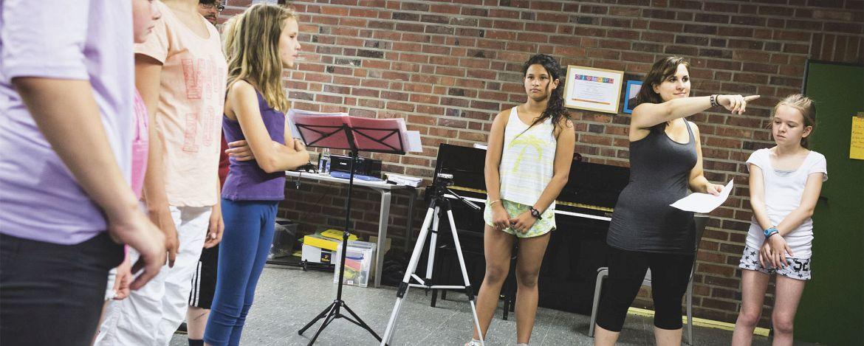 Rehearse in Brüggen