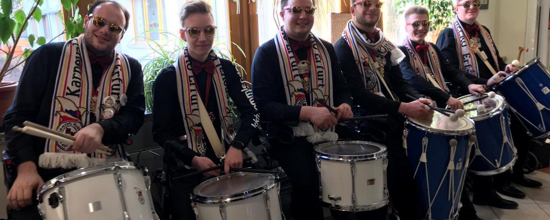 Bandprobe in der Jugendherberge Tambach-Dietharz