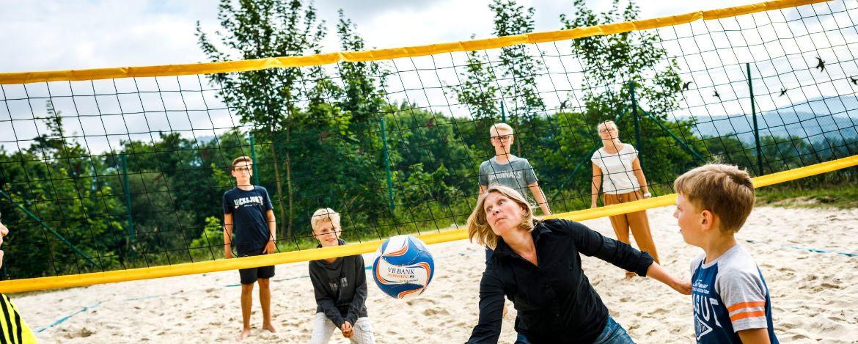 Sportlich aktiv auf dem großzügigen Außengelände mit vielen Sportmöglichkeiten