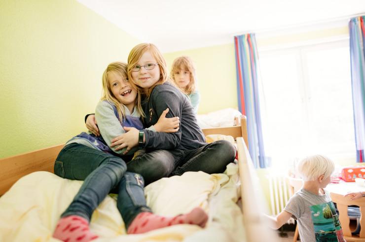 Mehrbettzimmer der Jugendherberge