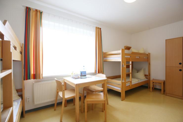 Familienzimmer der Jugendherberge Niebüll