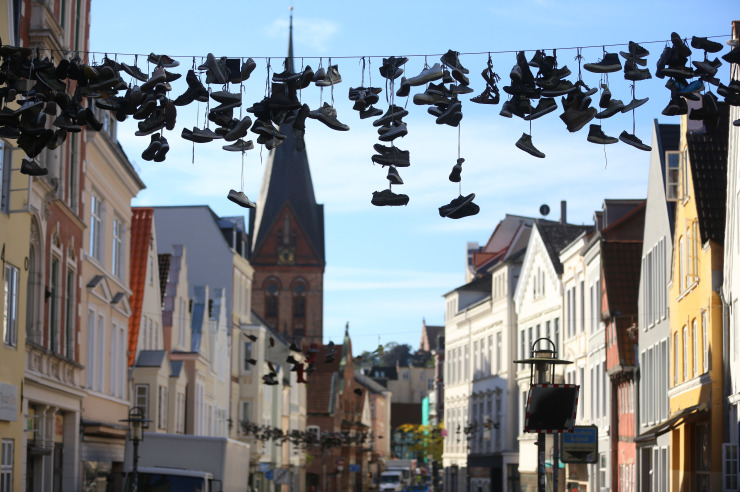 Innenstadt von Flensburg
