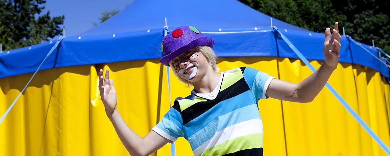 Einladung zur Zirkusshow