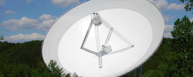 Wanderung zum Radioteleskop