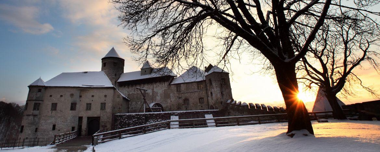 Die Burganlage in Burghausen