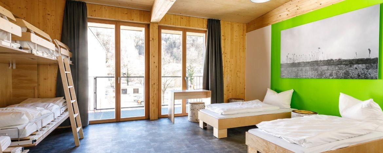 Schickes neues Mehrbettzimmer