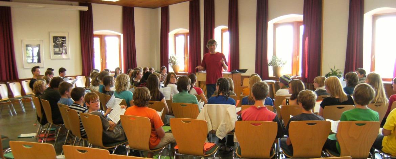 Rehearse in Ortenberg
