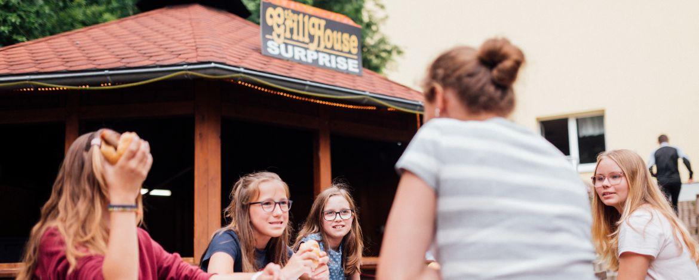 Grillabend in der Jugendherberge Wernigeroder