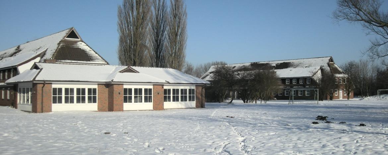 Jugendherberge Schönberg im Winter