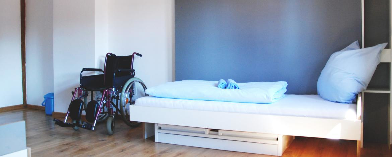 Klassenfahrt Inklusion Rollstuhl Bayern