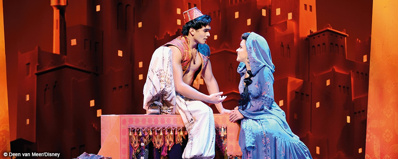 Musical Aladdin - Szenenmotiv Aladdin-Jasmin