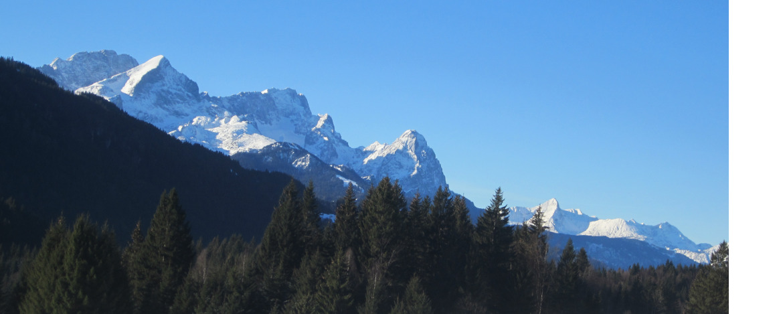 Winterurlaub am Fuß der Zugspitze