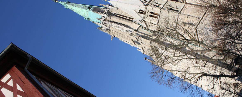 Die Marienkirche in Mühlhausen