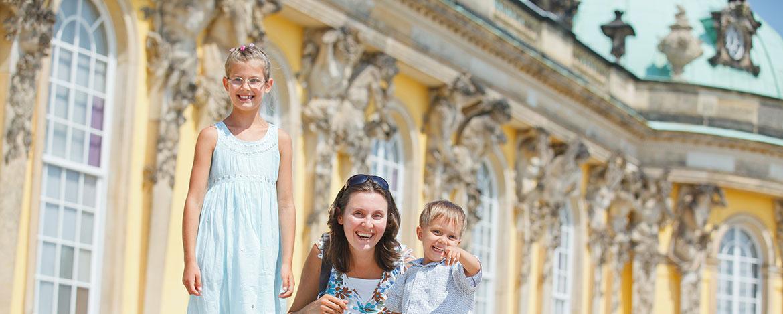 Familienurlaub Potsdam