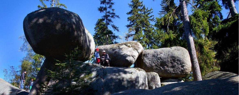 Das Felsenlabyrinth auf der Luisenburg erwandern
