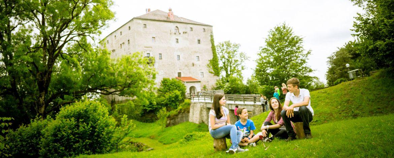 """Ein """"riesen"""" Theater auf der Burg Saldenburg"""