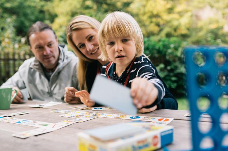 Ob Groß oder Klein - Gesellschaftsspiele machen Spaß