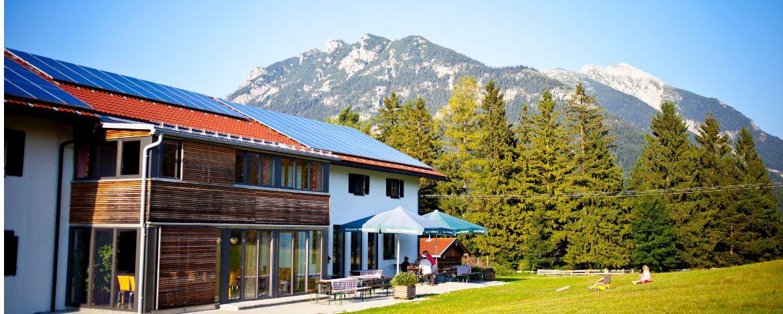 Klassenfahrt am Fuß der Zugspitze