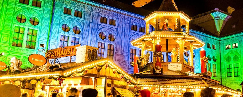 Weihnachtsmarkt in Dinkelsbühl